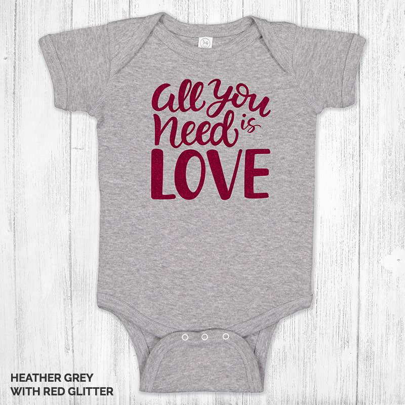 All You Need Is Love 1183 Heather Grey