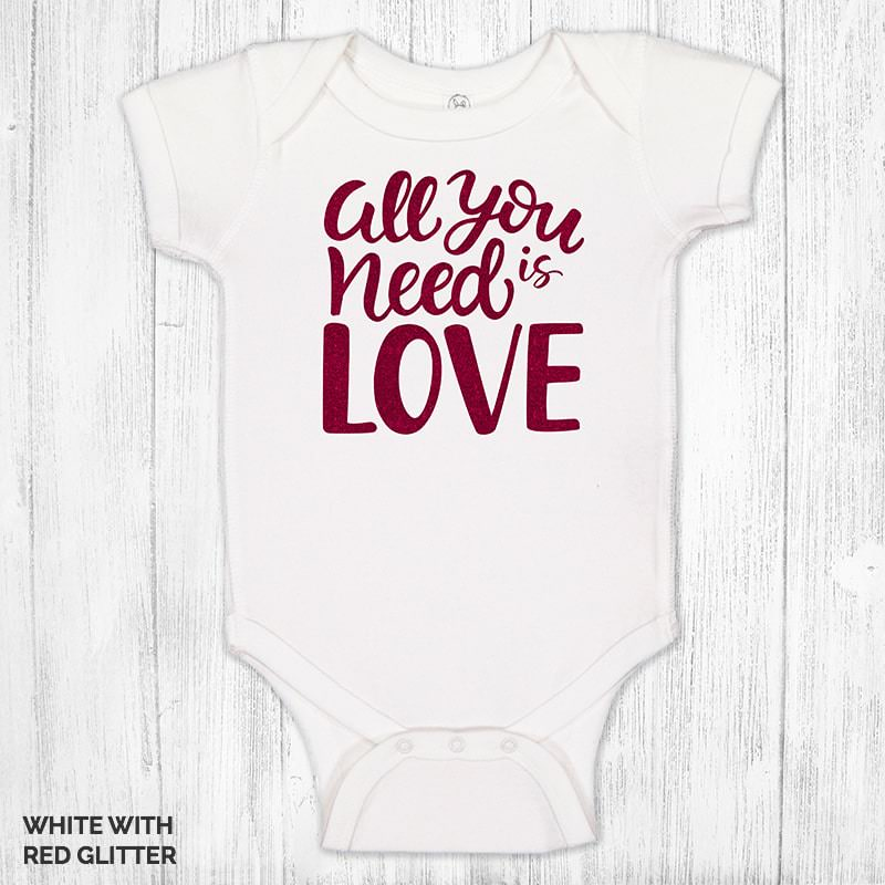 All You Need Is Love 1183 White