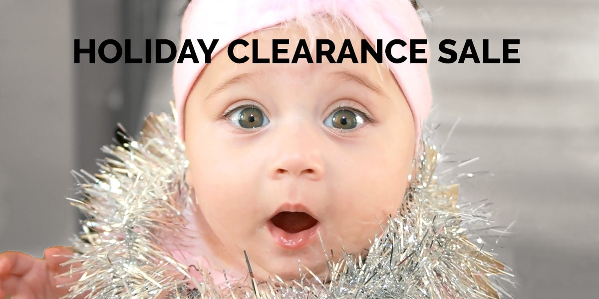 Holiday Clearance Sale 30% Off Through March 31